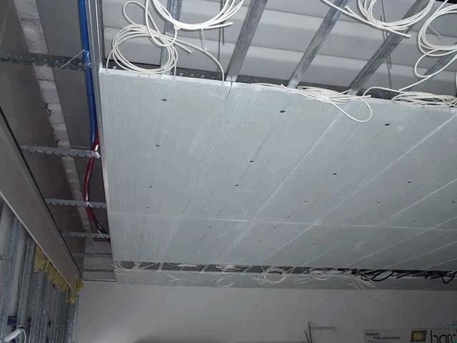 impianti termici bardani realizzazioni riscaldamento soffitto parete