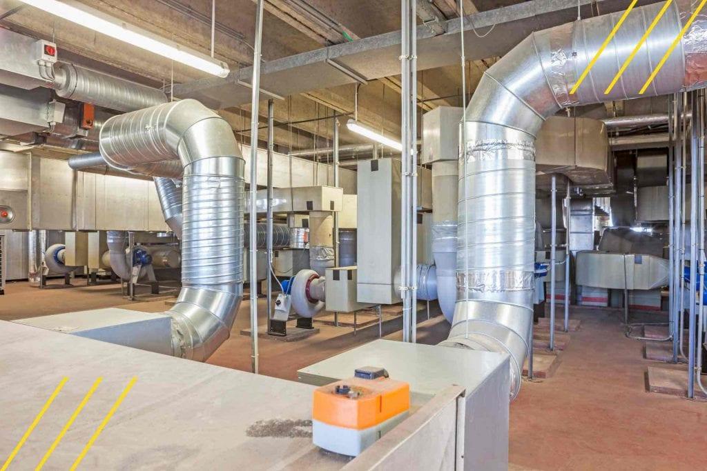 impianti termici bardani aspirazione centrlizzata tubazioni